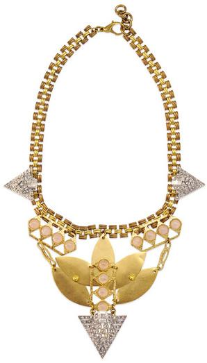 Lulu Frost Rose Necklace