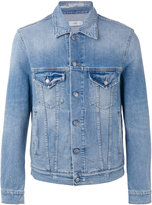 Closed denim shirt jacket - men - Cotton/Spandex/Elastane - S