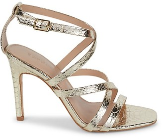 BCBGeneration Embossed Strappy Sandals