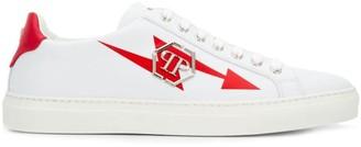 Philipp Plein Red Arrow Sneakers