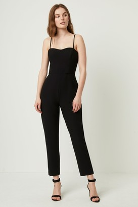 French Connenction Whisper Tapered Jumpsuit