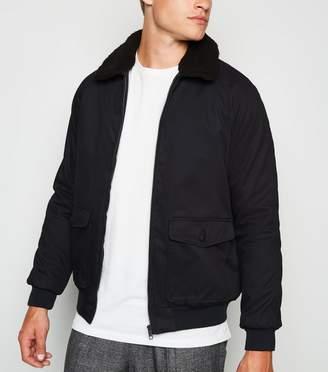 New Look Borg Collar Jacket