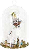 Gisela Graham - Glass Dome Fox Terrier Tree Decoration