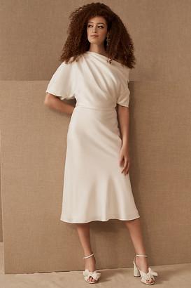 Anthropologie Amsale Gwenda Dress By in White Size 0