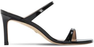 Stuart Weitzman 75mm Patent Leather Sandals