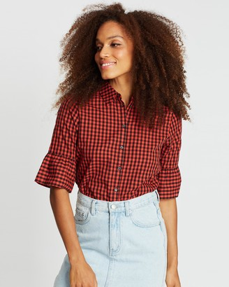 Maison Scotch Special Sleeve Clean Shirt