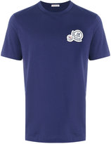 Moncler patch detail T-shirt - men - Cotton - S