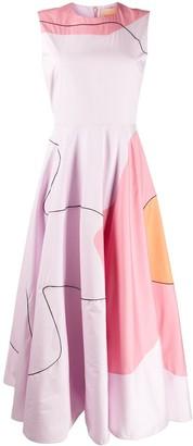 Roksanda Abstract Print Dress