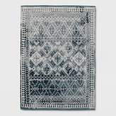Threshold Faded Turquoise Tapestry Area Rug