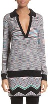 Missoni Women's Space Dye Wool Blend Polo Sweater