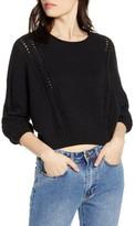Billabong Night Falls Crop Sweater
