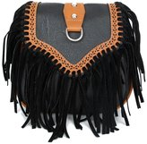 BIBITIME Tassel Crossbody Bag Women Fringe Messenger Bag Shoulder Bag Handbag Shopping Travel Hobo Bag