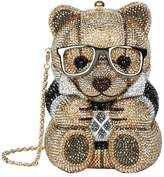 Judith Leiber Teddy Bear Clutch, White