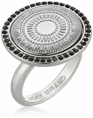 Lucky Brand Jewelry Hammered Circle Statement Ring