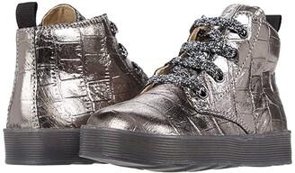 Naturino Falcotto Arawn AW20 (Toddler) (Silver) Girls Shoes