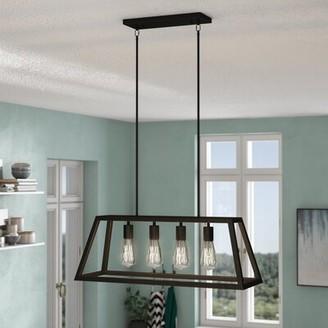 Brayden Studio McFetridge 4 - Light Kitchen Island Linear Pendant