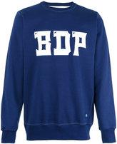 Bleu De Paname logo print sweatshirt