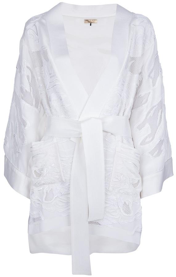 Emilio Pucci perforated kimono jacket