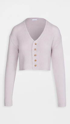 SABLYN Bianco Cashmere Cardigan