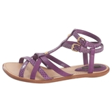Louis Vuitton Gladiator sandals in exotic leather.