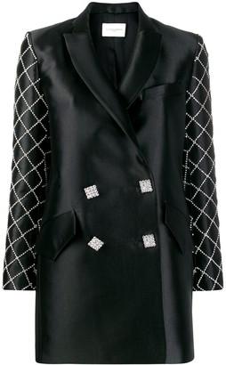 Giuseppe di Morabito Crystal Embellished Blazer Dress