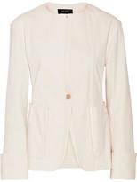 Isabel Marant Honey Stretch Cotton-blend Jacket - Ecru