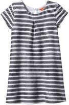 Joe Fresh Toddler Girls' Print Dress, JF Midnight Blue (Size 3)