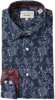 Ted Baker Linear Floral Endurance Dress Shirt