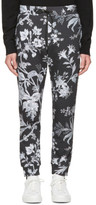 McQ Grey Floral Lounge Pants