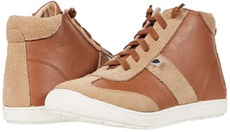 Old Soles Travel High-Top (Toddler/Little Kid) (Tan/Tan Suede) Boy's Shoes