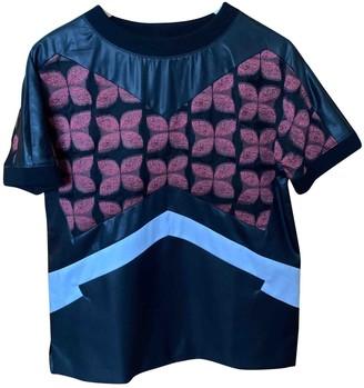 Antonio Berardi Black Cotton Top for Women
