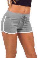 Short Pants,Doinshop Women Summer Gym Workout Skinny Yoga Elastic Shorts (M, )
