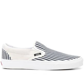 Vans Striped Slip-On Sneakers