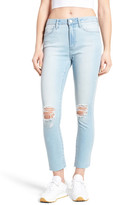 Articles of Society Heather High Waist Crop Jeans