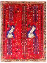 """F.J. Kashanian Persia Hand-Knotted Rug (5'5""""x6'11"""")"""
