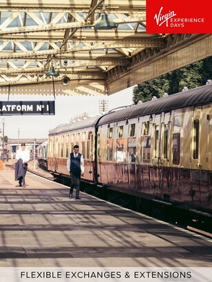 Virgin Experience Days Great Central Railway Steam Train Experience for Two