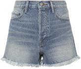 Frame Le Original Light Blue Shorts
