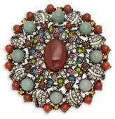 Heidi Daus Textured Crystal Pin