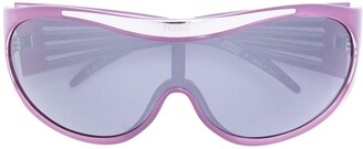 Gianfranco Ferré Pre-Owned Branded Frame Sunglasses
