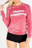 Spiritual Gangster Choose Happiness Sweatshirt
