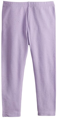 Toddler Girl Jumping Beans Glitter Long Leggings