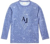 Armani Junior Armani Boys' Galaxy Print Logo Tee - Sizes 4-16