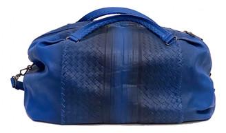 Bottega Veneta Blue Leather Bags