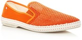 Rivieras Men's Classic 20 Degrees Woven Slip-On Sneakers