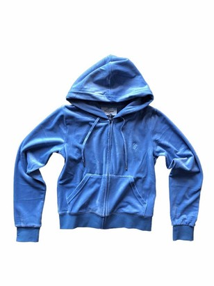 Juicy Couture Hooded Sweatshirt ROBIA Blue M