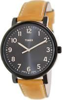 Timex Men's Originals T2N677 Leather Leather Quartz Fashion Watch
