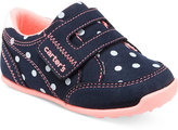 Carter's Baby Girls' Every Step Stage 3 Walking Taylor Sneakers, Baby Girls (0-4) & Toddler Girls (4.5-10.5)