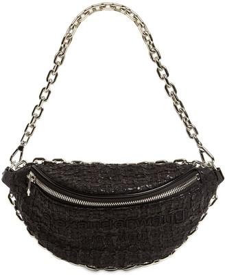 Alexander Wang Attica Soft Tweed Belt Bag