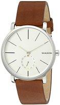 Skagen Men's SKW6273 Hagen Dark Brown Leather Watch