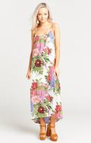 MUMU Turlington Maxi Dress ~ Duchess Darling